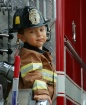 fireman on truck ...