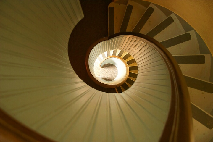 The Curvey Staircase