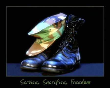 Service, Sacrifice, Freedom