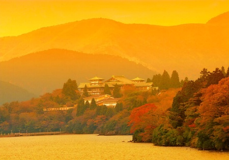 Hakone Sunset.