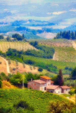 Farm House In Tuscany