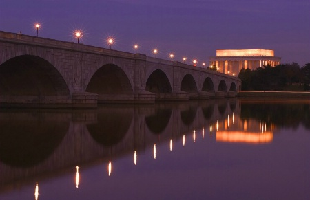 Arlington Bridge - Lincoln Memorial