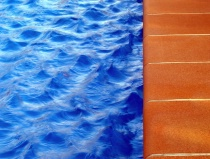 Photography Contest Grand Prize Winner - December 2004: Pool waves