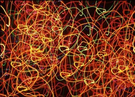 Swirly Christmas Lights