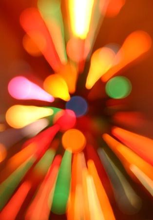 Lights a blur..