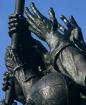Hands of Iwo Jima...