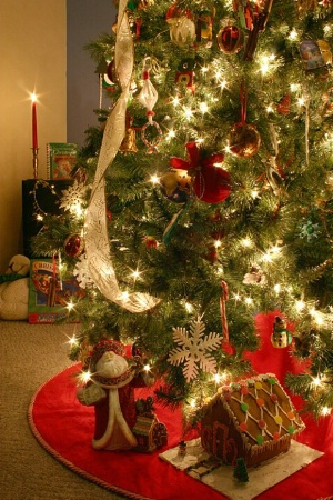 Gifts of Gingerbread Under the Tree