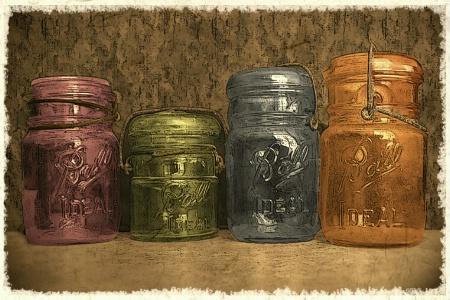 Antique Ball Jars