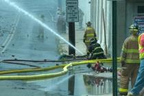 Warehouse Fire in Pottstown # 1
