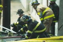 Warehouse Fire in Pottstown # 3