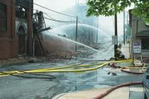 Warehouse Fire in Pottstown # 7