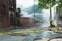 Warehouse Fire in Pottstown # 8