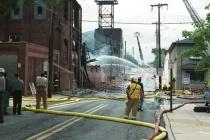 Warehouse Fire in Pottstown # 9