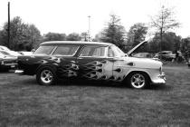 Pottstown Car Show # 3(B&W)
