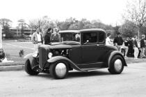 Pottstown Car Show #7 (B&W)