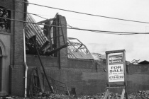 Pottstown Warehouse Fire # 2 (B&W)