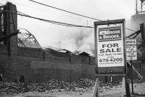 Pottstown Warehouse Fire # 3(B&W)