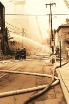Pottstown Warehouse Fire # 9(B&W)
