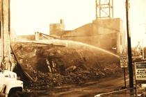 Pottstown Warehouse Fire #14 (B&W)