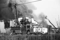 Pace Warehouse Fire # 2 (B&W)
