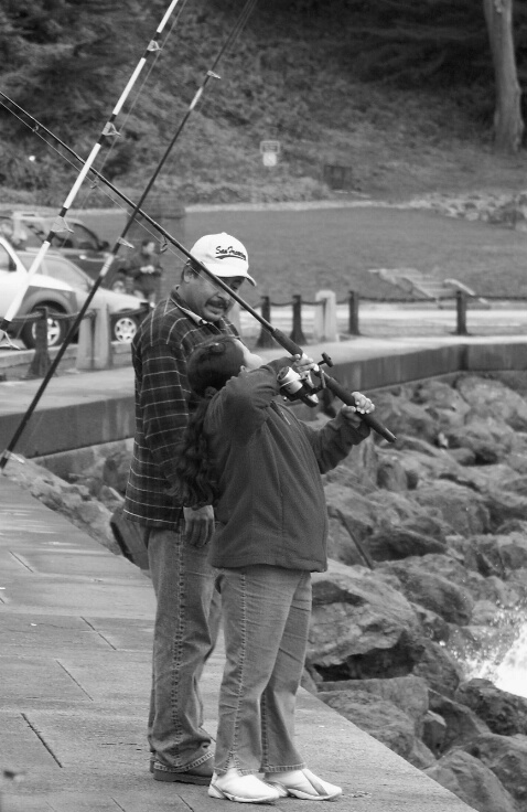 Fort Point - Fishing - ID: 696396 © Karen Johnson