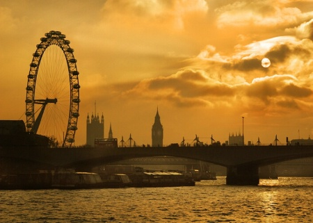 Eye over Parliament