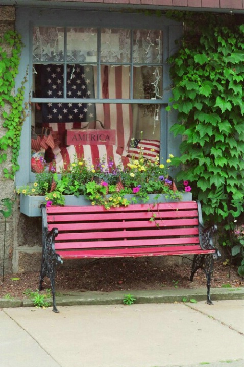 Patriot Bench - ID: 697035 © Deborah A. Prior