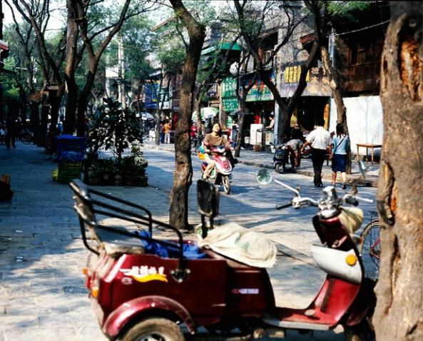 Street Scene, China - ID: 700393 © Govind p. Garg