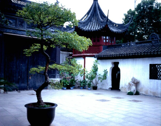 Courtyard, China - ID: 700394 © Govind p. Garg
