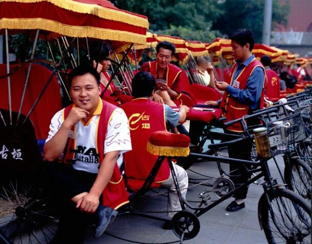 Rickshaws, China - ID: 700397 © Govind p. Garg