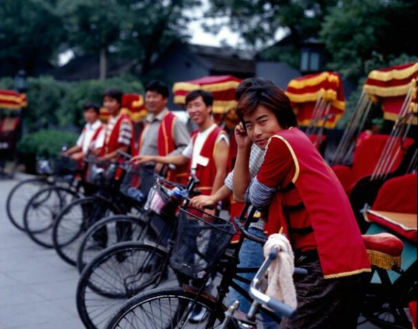 Rickshaws, China - ID: 700398 © Govind p. Garg