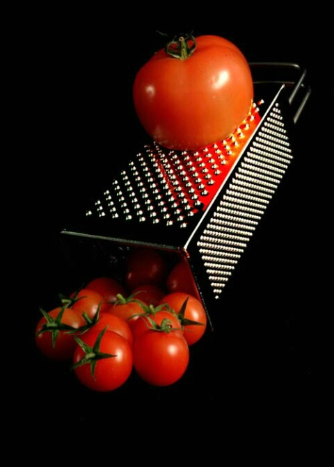 Grated Toms