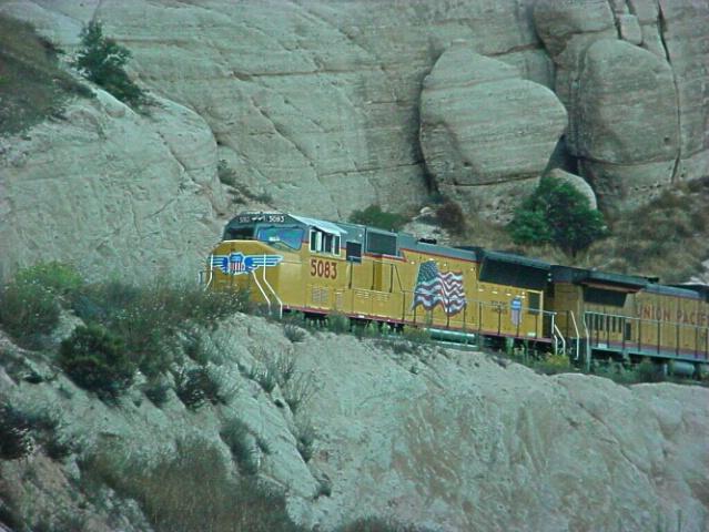 on rocky rails