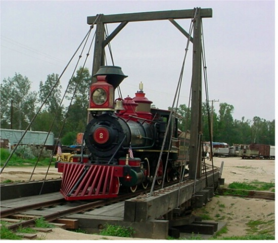 grizzly flats RR steam engine