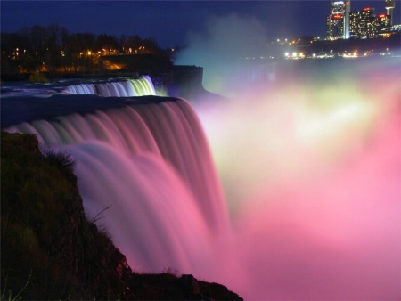 Niagra Falls and its beauty