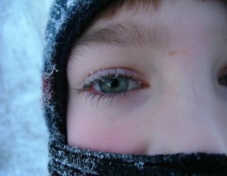 frozen lashes