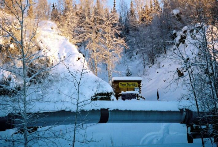 Alaska Pipeline---Fairbanks