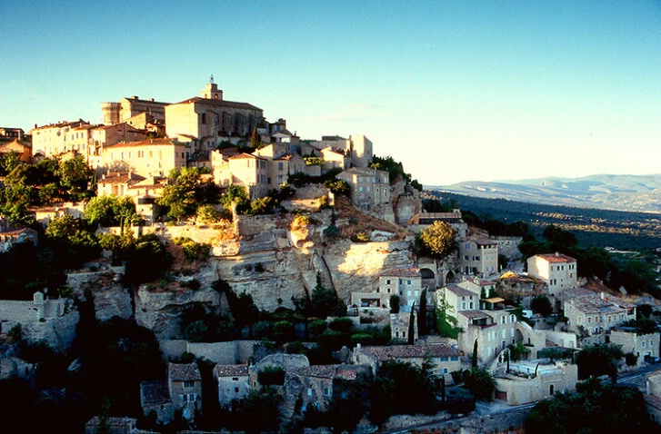 Provencal Hill Town