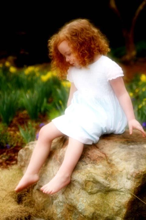 Ah, sweet little girl...