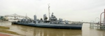 USS KIDD Panarama