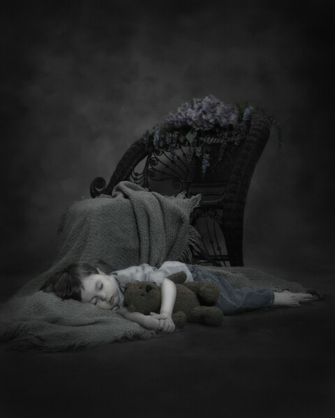 shhhh........sweetly sleeping