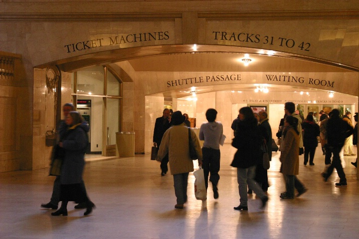 Grand Central Train Station, New York
