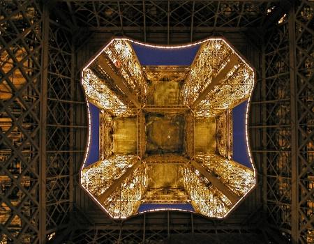 Eiffel Tower Kaleidoscope