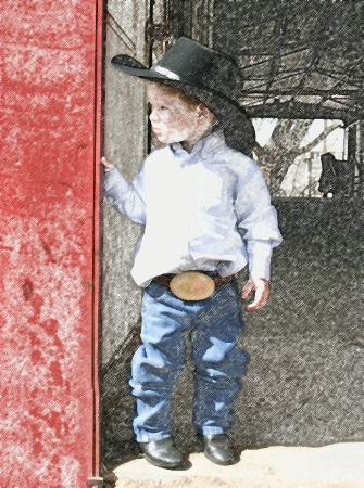 Tough Little Cowpoke