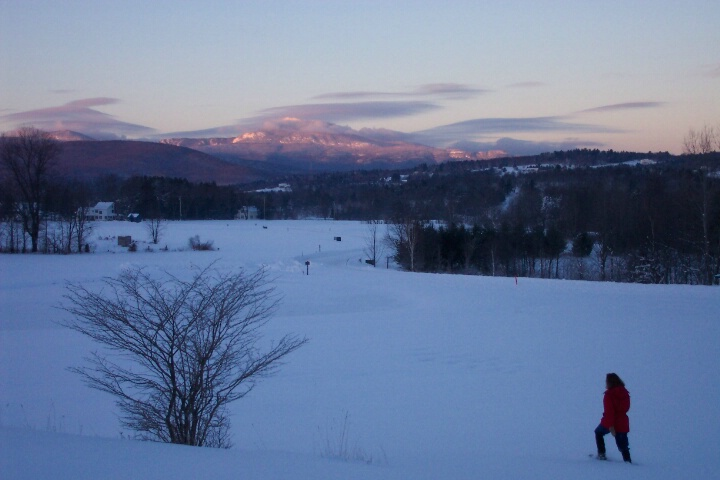 Sunrise Snowshoe