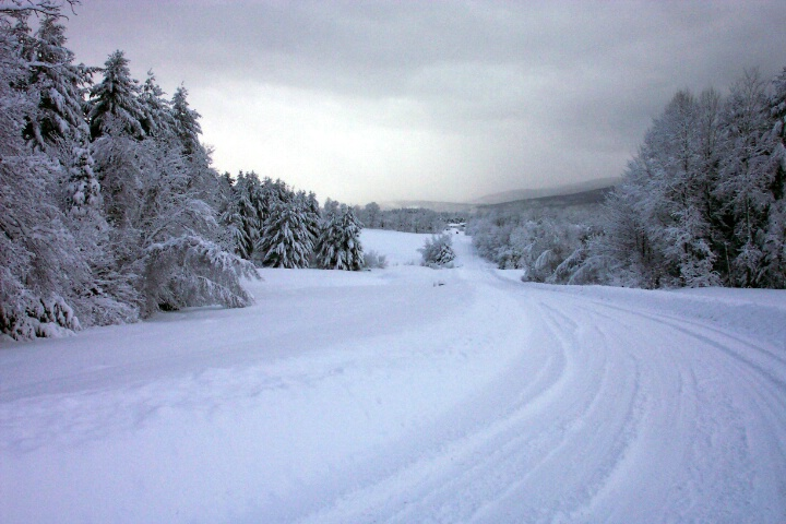Vermont Winter Road