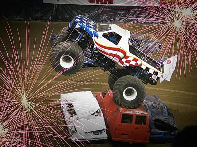 Monster Truck Launch
