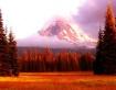 Sunset on Mt. Ada...