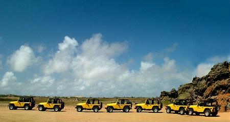 ...jeep convoy...