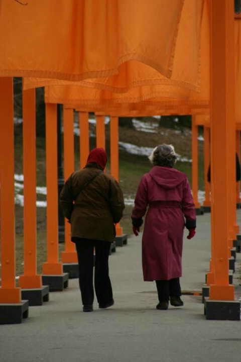 Walking Through The Gates